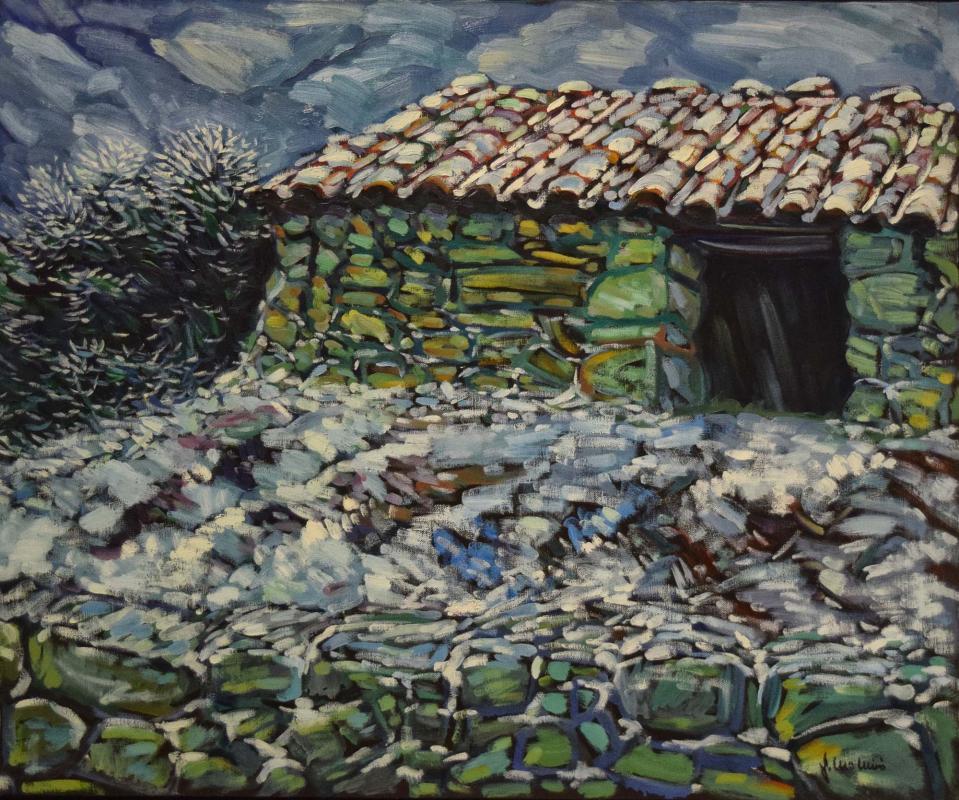 05.08.2018 Cabana (oli)  -  Miró i Rosinach