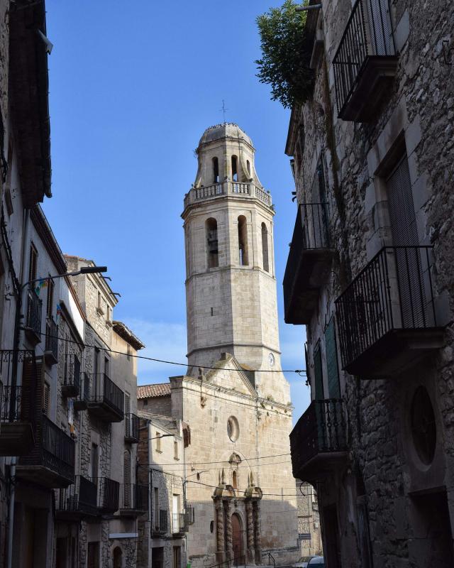 Iglesia de Sant Martí - Autor Ramon Sunyer (2018)