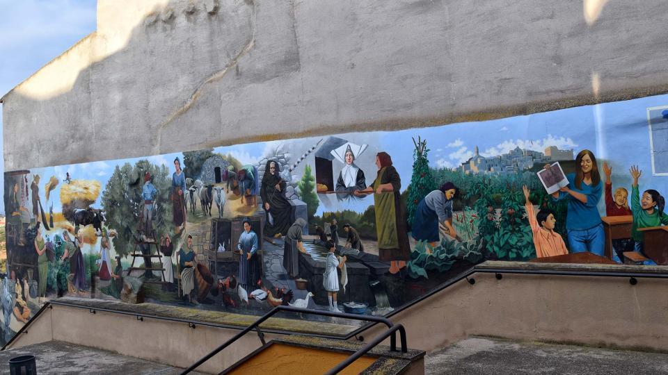 12.08.2018 murals  Maldà -  Ramon Sunyer