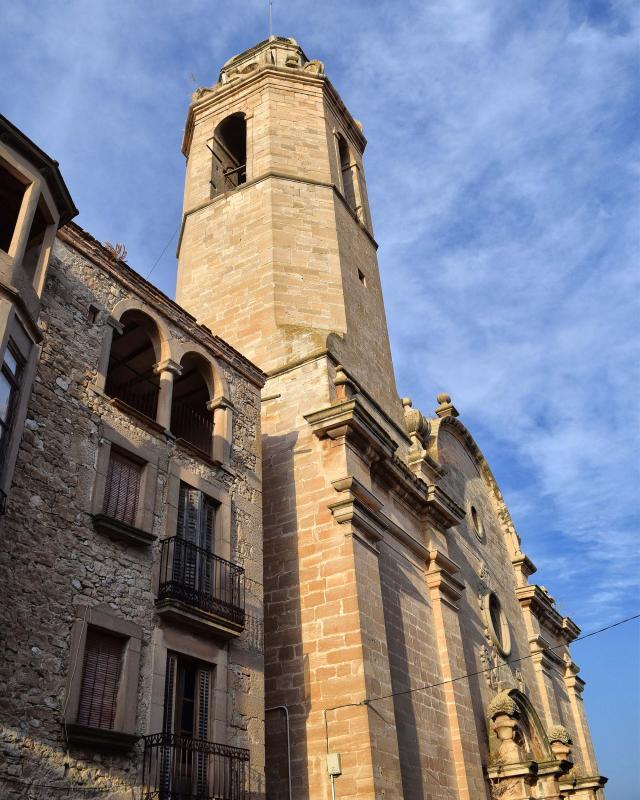 12.08.2018 Església  Maldà -  Ramon Sunyer