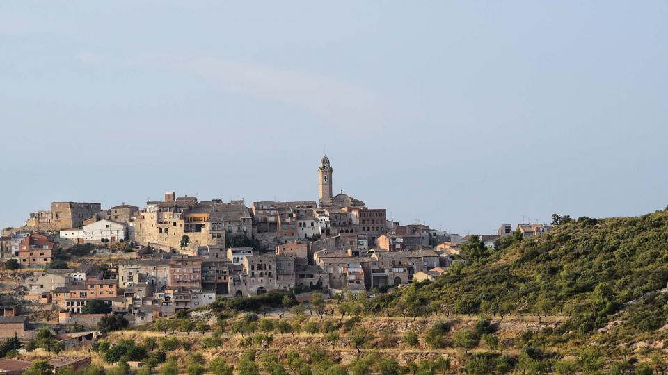 12.08.2018 vista del poble  Maldà -  Ramon Sunyer
