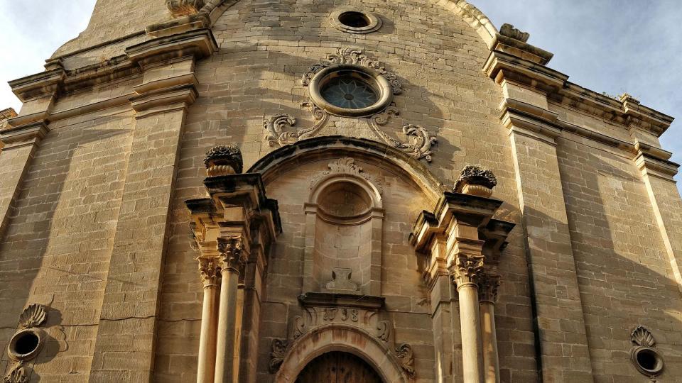 12.08.2018 Església de Santa Maria  Maldà -  Ramon Sunyer
