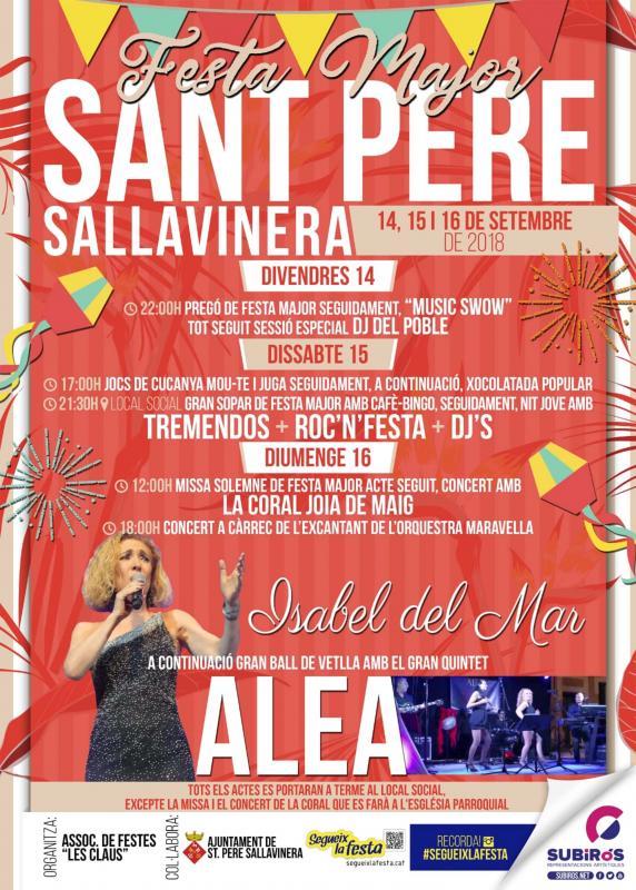 Festa Major de Sant Pere Sallavinera 2018