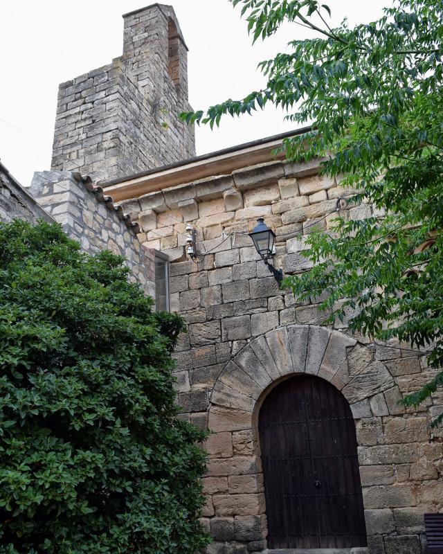 11.08.2018 Església de sant Andreu  Montblanquet -  Ramon Sunyer