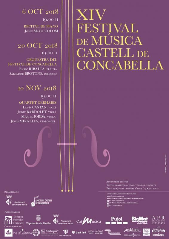 14è Festival de Música Castell de Concabella