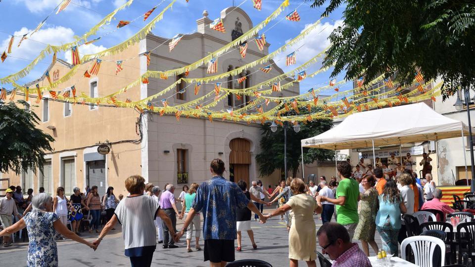 09.09.2018 Sardanes a la plaça  Guissona -  Ramon Sunyer