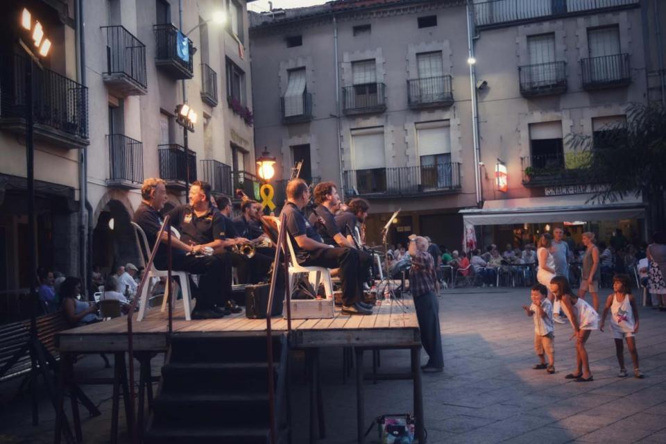 21.08.2018 Sardanes a la plaça  Santa Coloma de Queralt -  Ramon Sunyer
