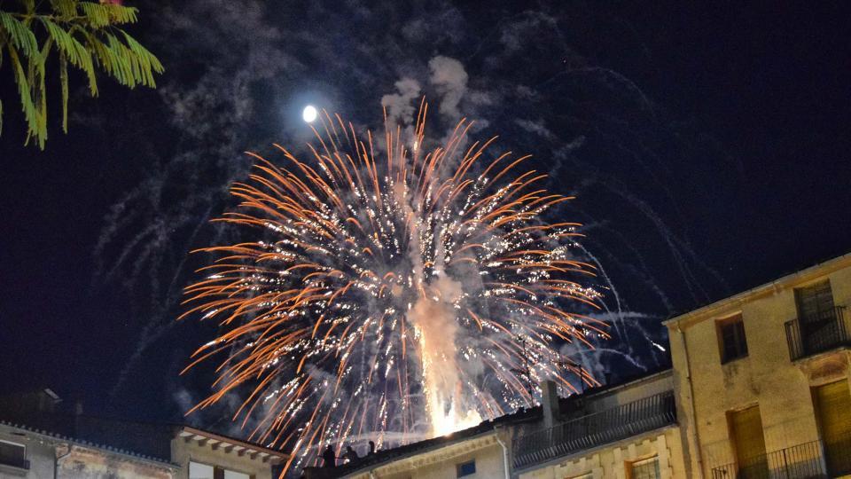 21.08.2018 Castell de focs  Santa Coloma de Queralt -  Ramon Sunyer