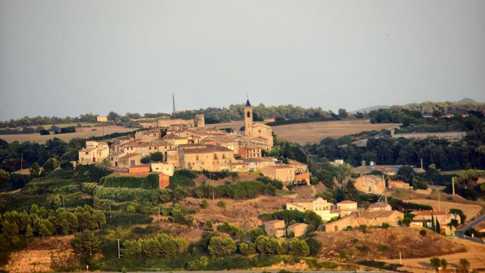 21.08.2018 Vista des de Santa Fe de Montfred  Aguiló -  Ramon Sunyer