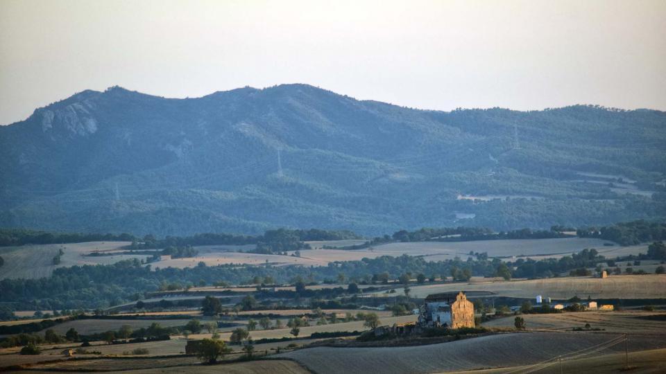 21.08.2018 paisatge  Santa Coloma de Queralt -  Ramon Sunyer