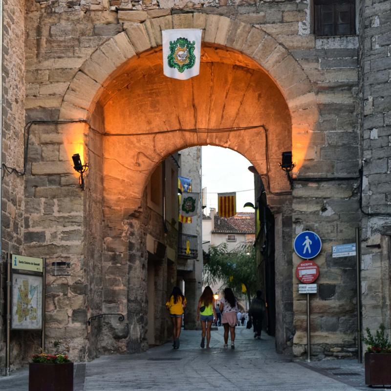 21.08.2018 Portal de Sanou  Santa Coloma de Queralt -  Ramon Sunyer