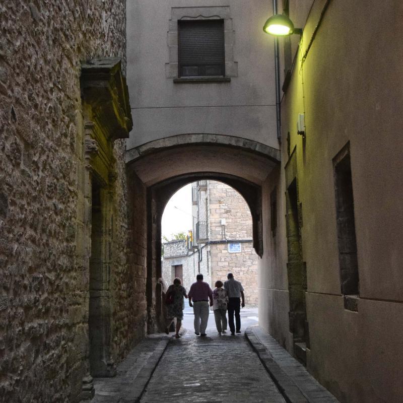 21.08.2018 Portal del Vicari  Santa Coloma de Queralt -  Ramon Sunyer