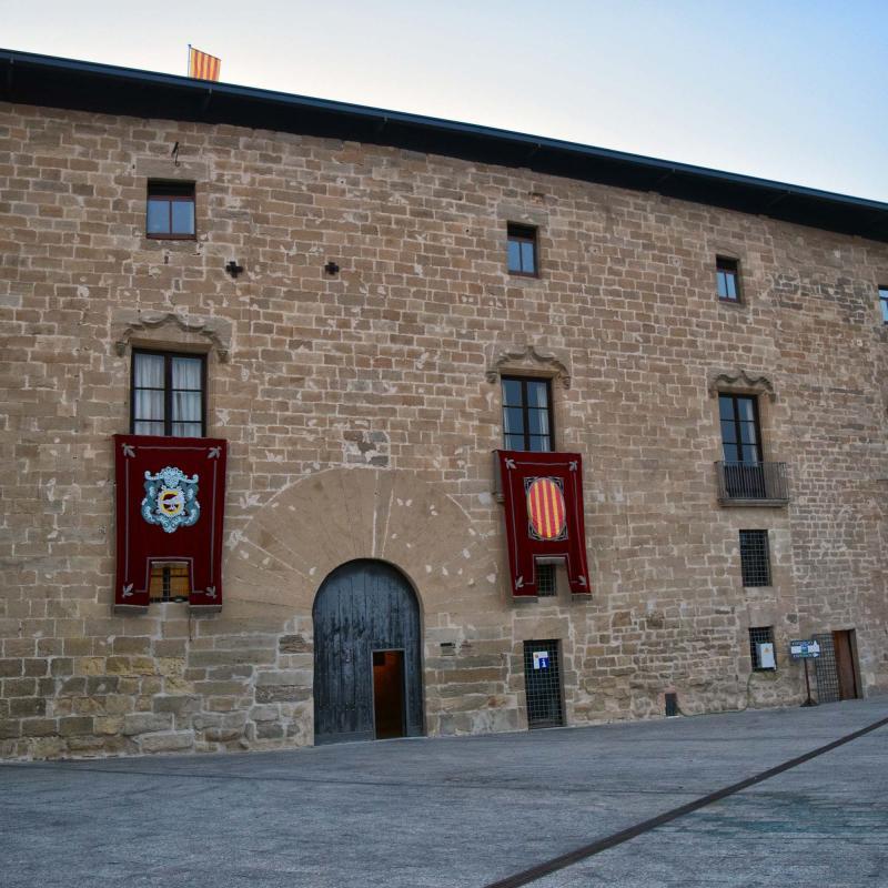 21.08.2018 castell dels Comtes  Santa Coloma de Queralt -  Ramon Sunyer