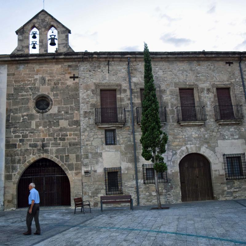 21.08.2018 Església de Santa Magdalena  Santa Coloma de Queralt -  Ramon Sunyer