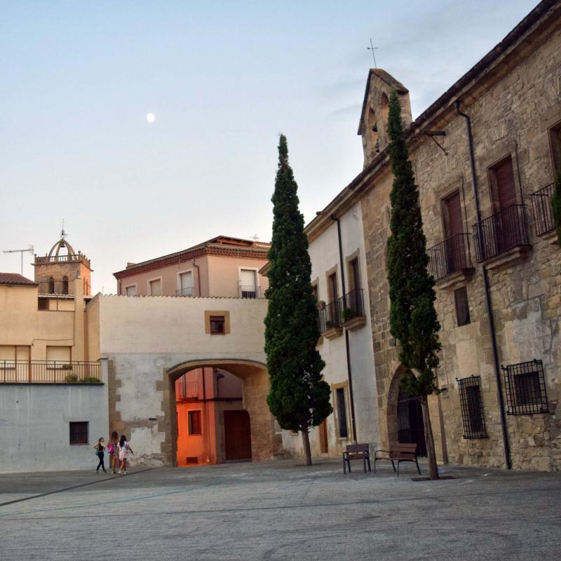 21.08.2018 portal  Santa Coloma de Queralt -  Ramon Sunyer