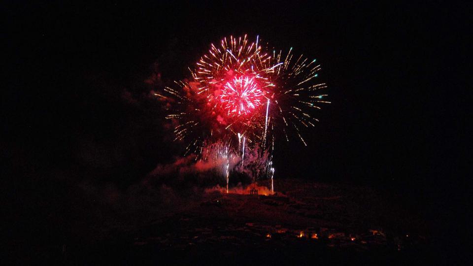 07.09.2017 Castell de focs  Sanaüja -  Ramon Sunyer