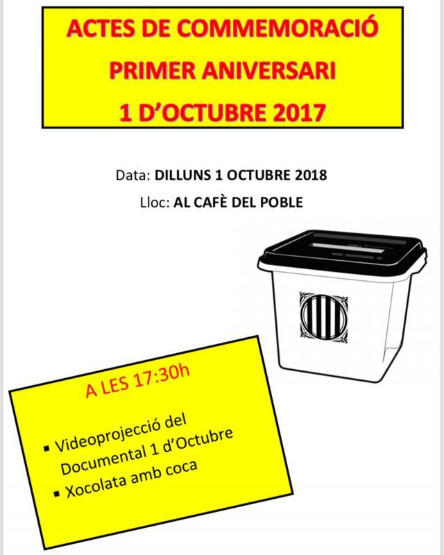 Actes commemoratius 1-Octubre Nalec -