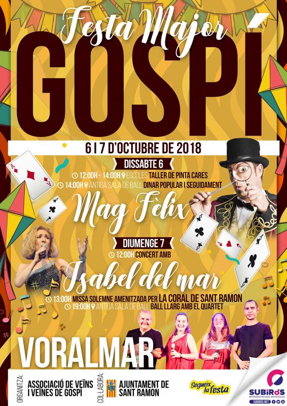 Festa Major de Gospí 2018