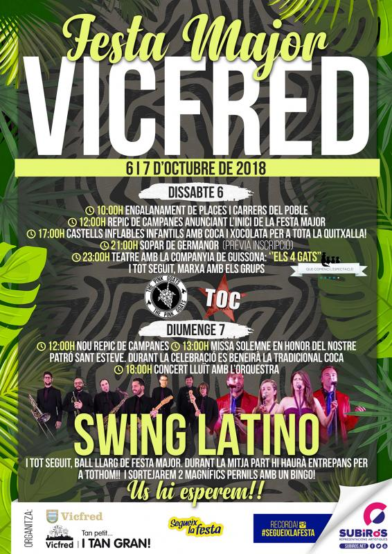 Festa Major de Vicfred 2018