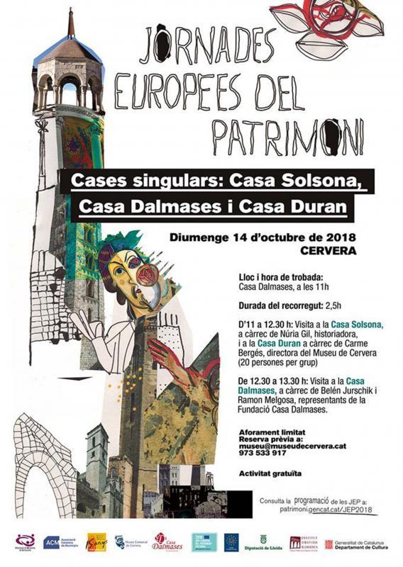 Jornades Europees del Patrimoni 2018 Cervera -