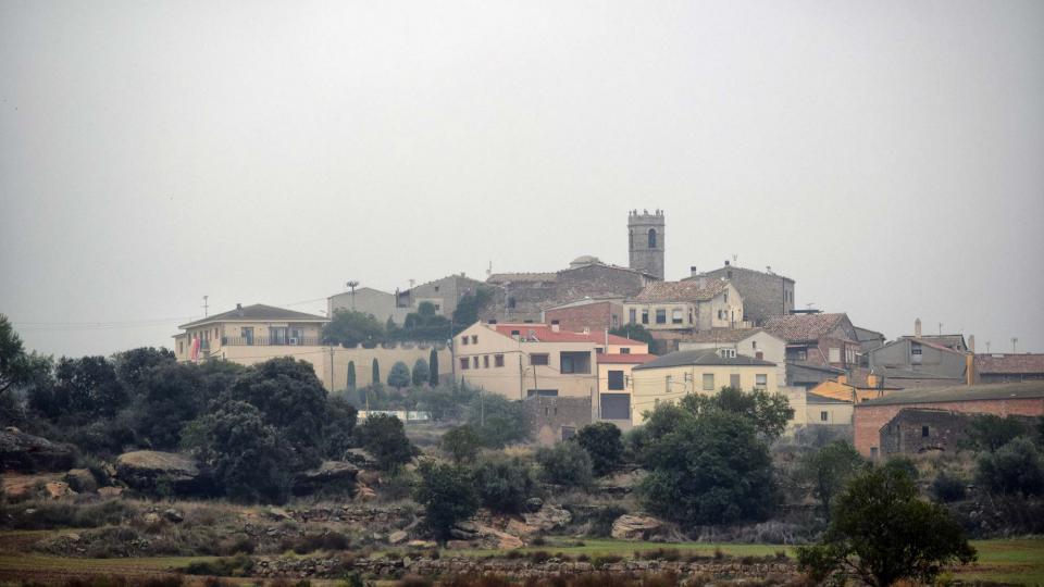 21.10.2018 Vista del poble  Bellver d'Ossó -  Ramon Sunyer