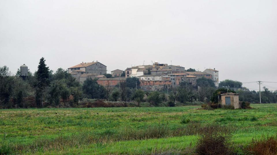 21.10.2018 Vista del poble  Ossó de Sió -  Ramon Sunyer