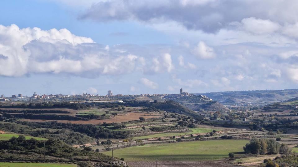 16.11.2018 la vall d'ondara amb cervera al fons  Fonolleres -  Ramon Sunyer