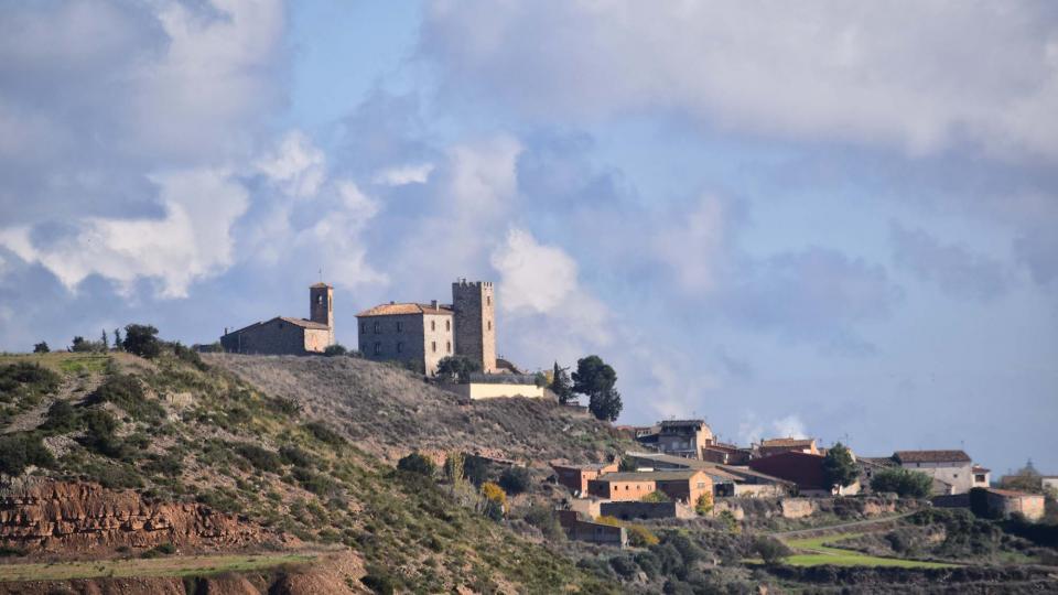 16.11.2018 vista del poble  La Curullada -  Ramon Sunyer