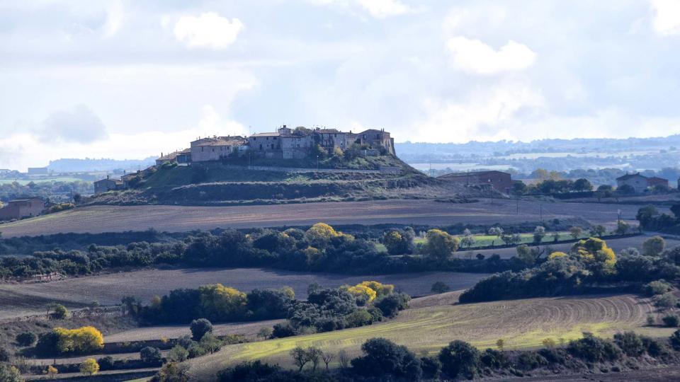 16.11.2018 vista del poble  Granyanella -  Ramon Sunyer