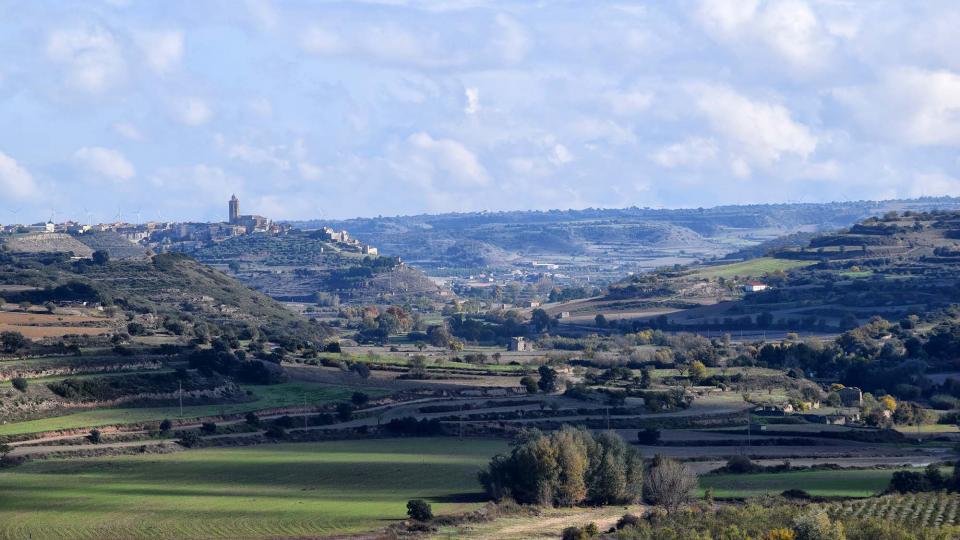 16.11.2018 vista de la vall d'Ondara  Fonolleres -  Ramon Sunyer