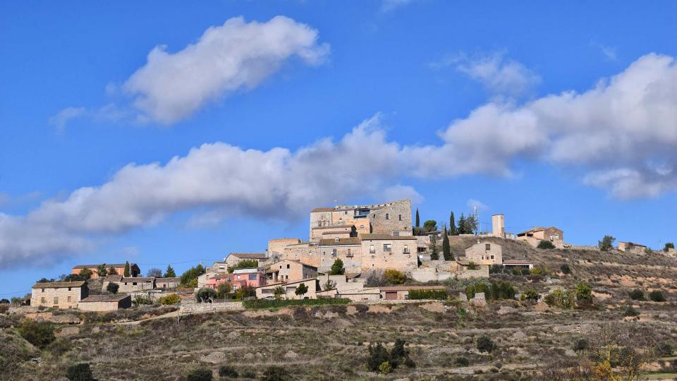 16.11.2018 vista del poble  Fonolleres -  Ramon Sunyer