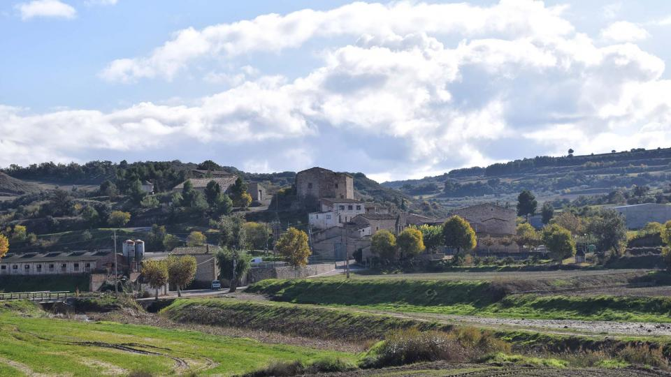 16.11.2018 vista del poble  La Móra -  Ramon Sunyer