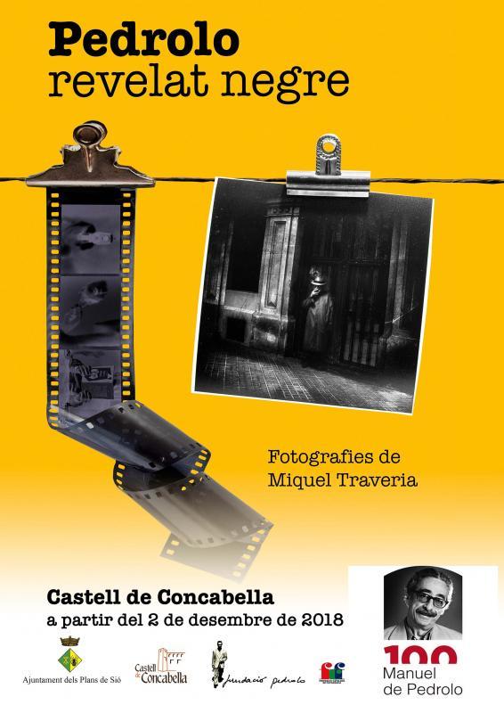Exposició fotogràfica 'Pedrolo, revelat negre'