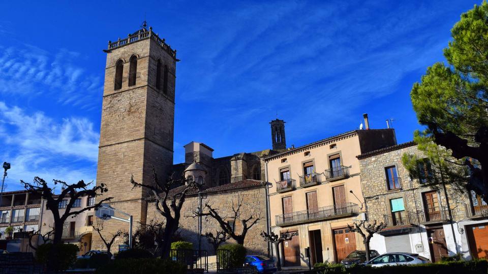 03.11.2018 plaça del Portalet  Santa Coloma de Queralt -  Ramon Sunyer