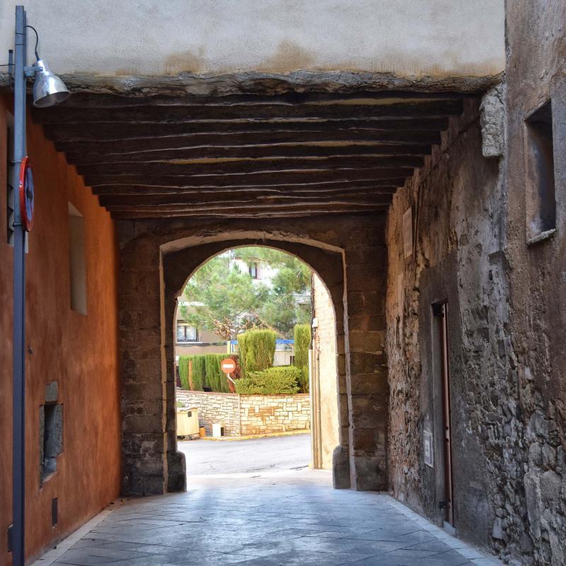 03.11.2018 Portal del Martí  Santa Coloma de Queralt -  Ramon Sunyer