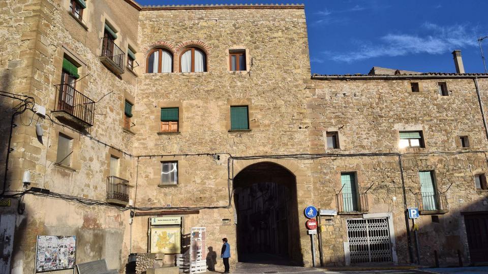 03.11.2018 Portal de Santa Coloma  Santa Coloma de Queralt -  Ramon Sunyer