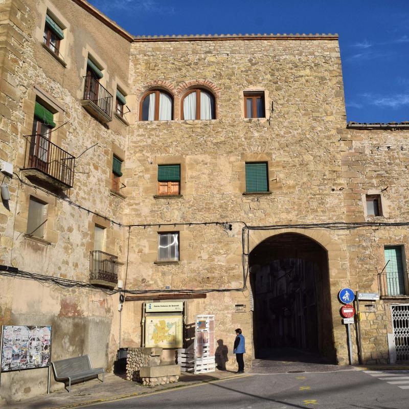 Portal de Santa Coloma - Autor Ramon Sunyer (2018)