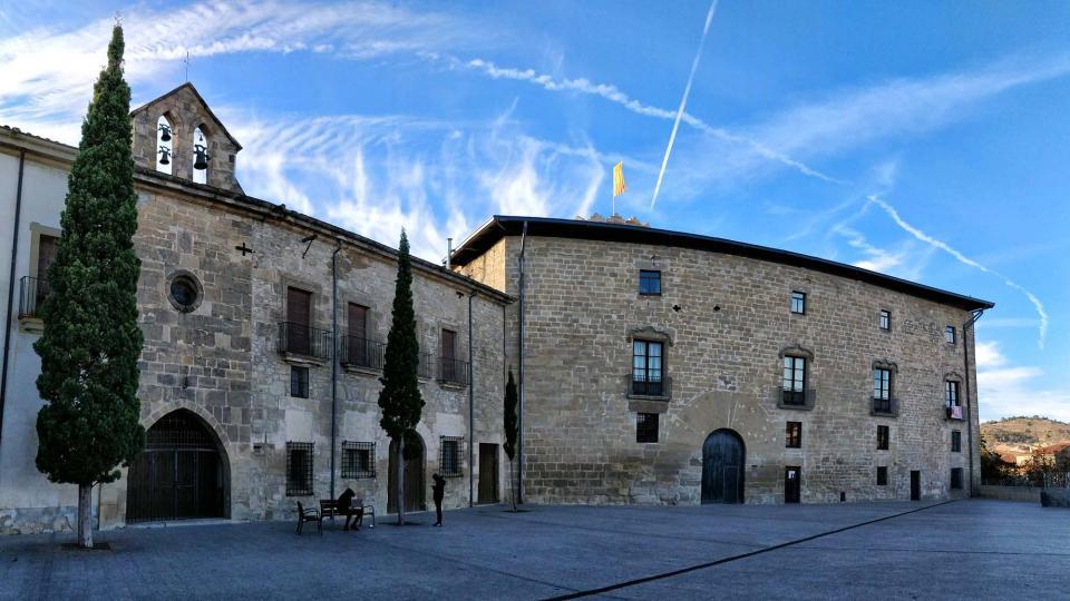 03.11.2018 Pati del Castell  Santa Coloma de Queralt -  Ramon Sunyer