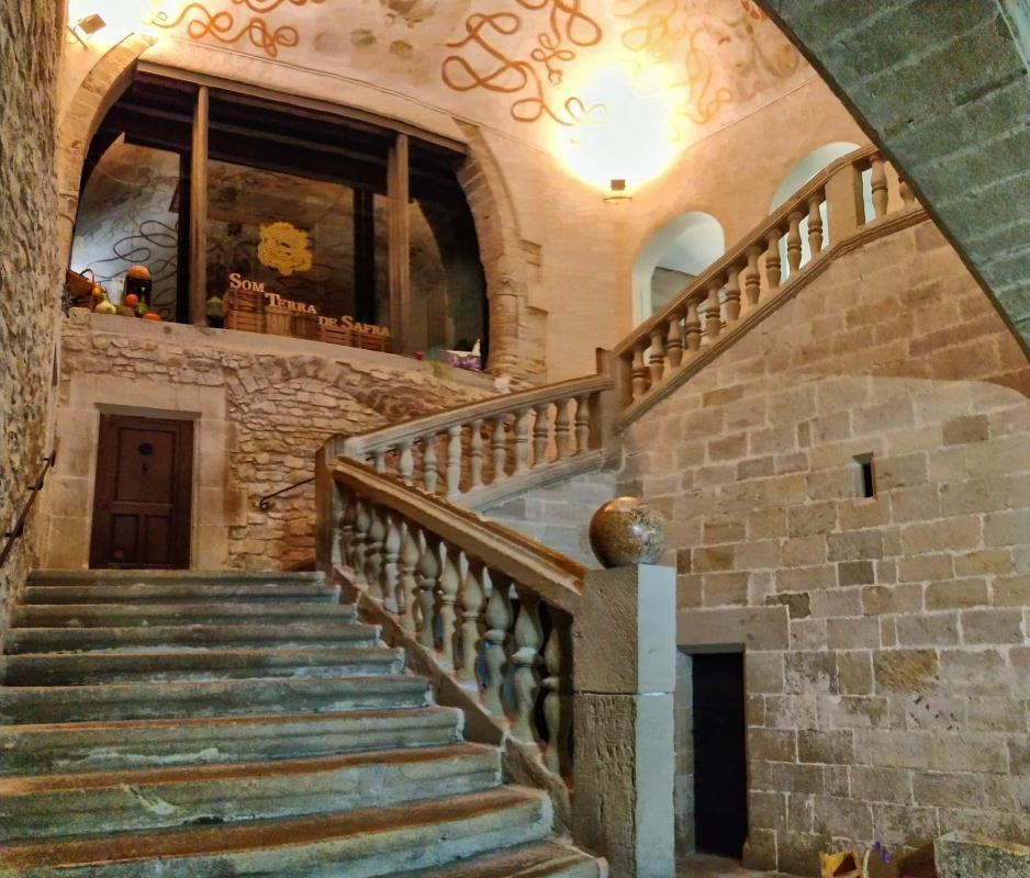 03.11.2018 Castell dels Comtes  Santa Coloma de Queralt -  Ramon Sunyer