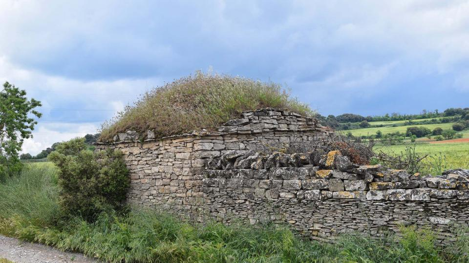 Cabana i paret a Sant Ramon -