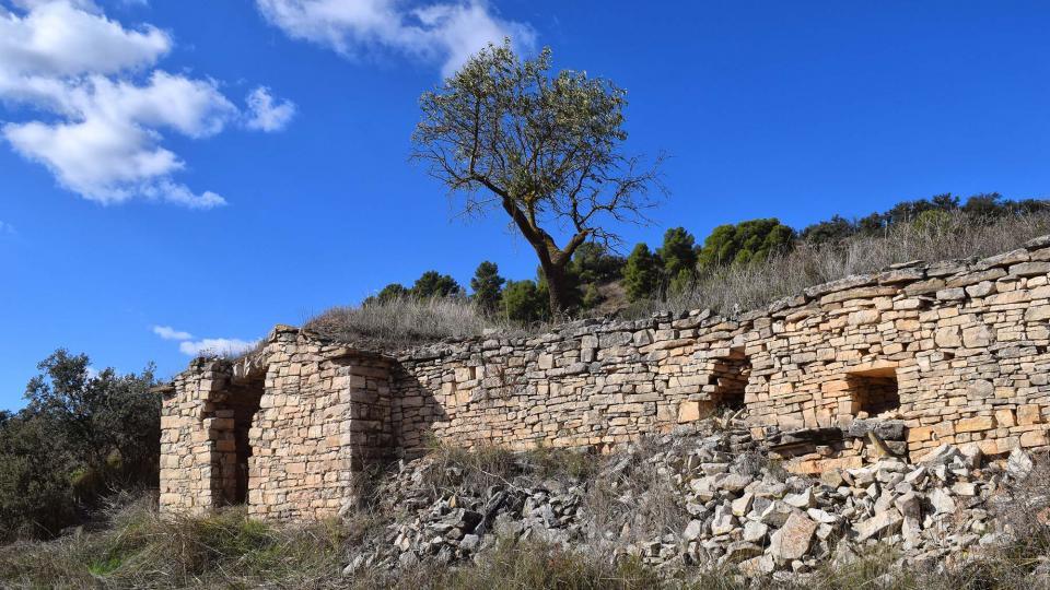 Esperem que sigui un al·licient per evitar la degradació de les cabanes i parets que omplen el nostre territori -