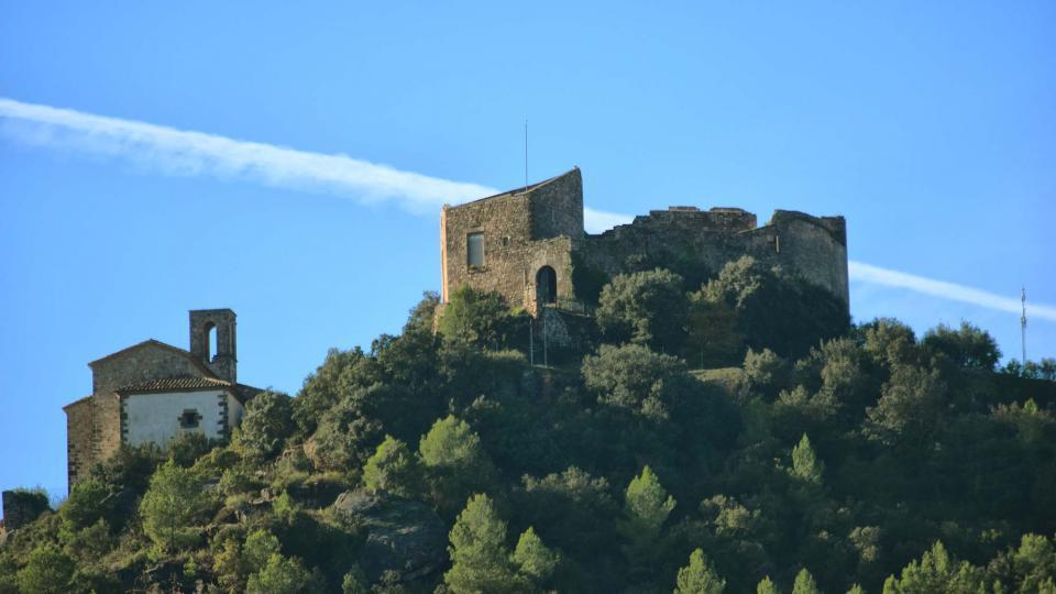 09.12.2018 Vista del turó del Castell  Castellar -  Ramon Sunyer