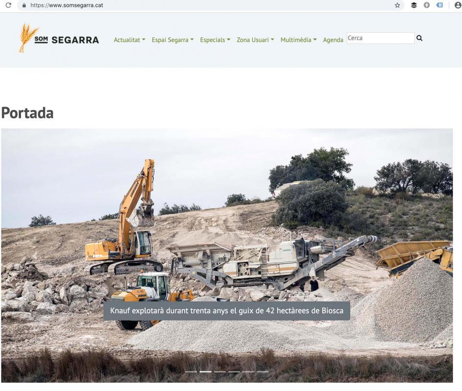 Som Segarra estrena una nova versió de la web -