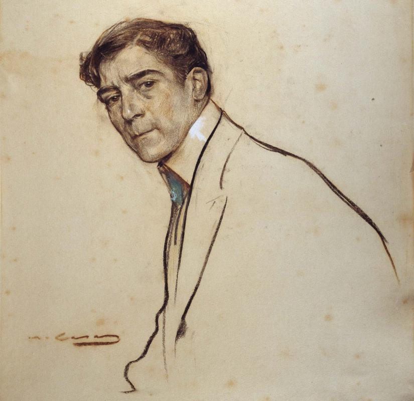 Alexandre de Riquer per Ramon Casas - Calaf