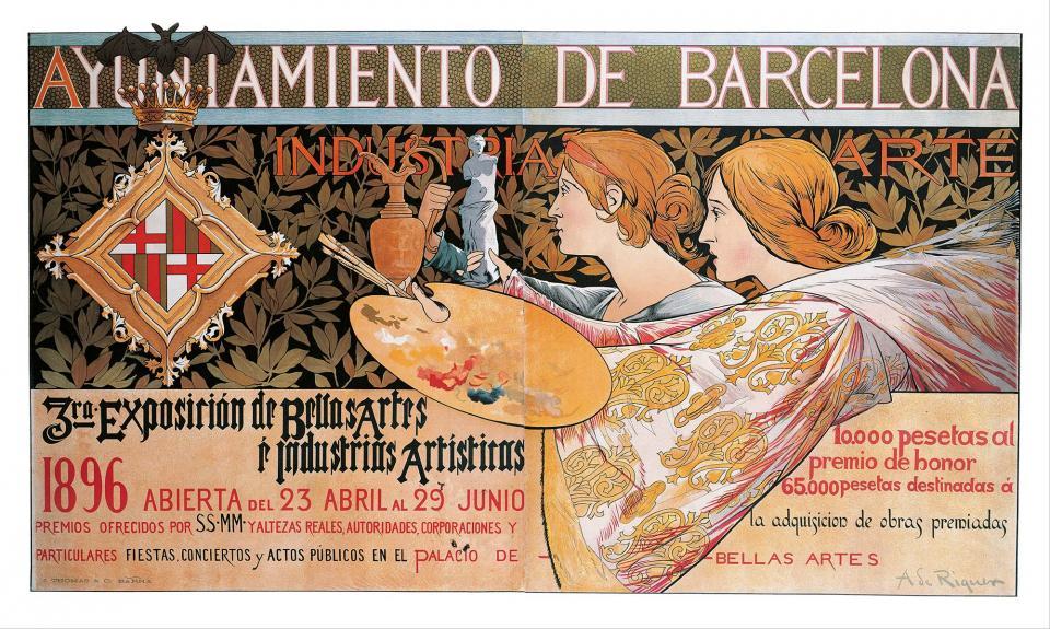 3ra. Exposición de Bellas Artes é Industrias Artísticas de Barcelona 1896 - Calaf