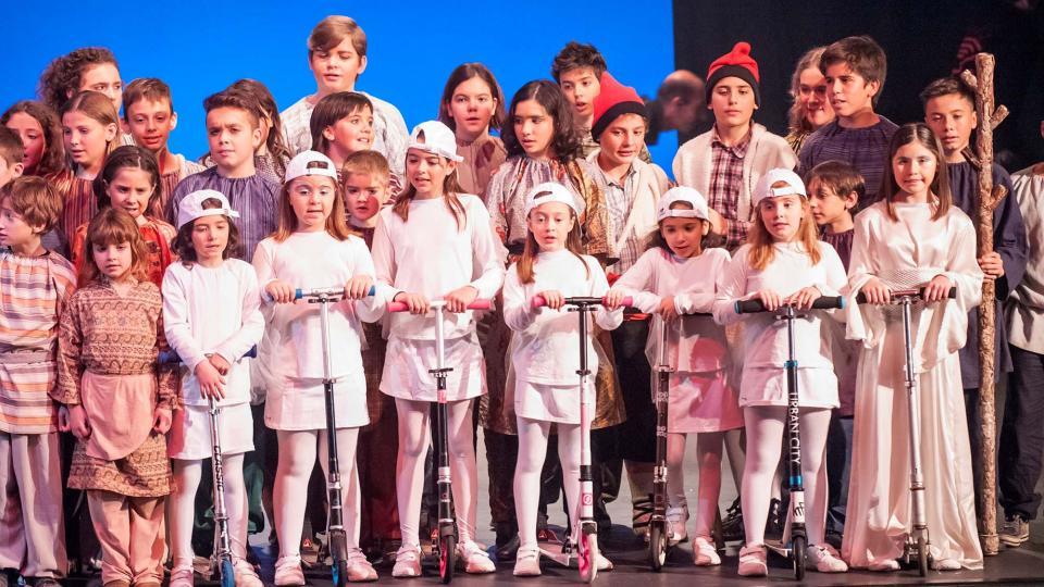06.01.2018 Pastorets infantils  Calaf -  Els Pastorets de Calaf