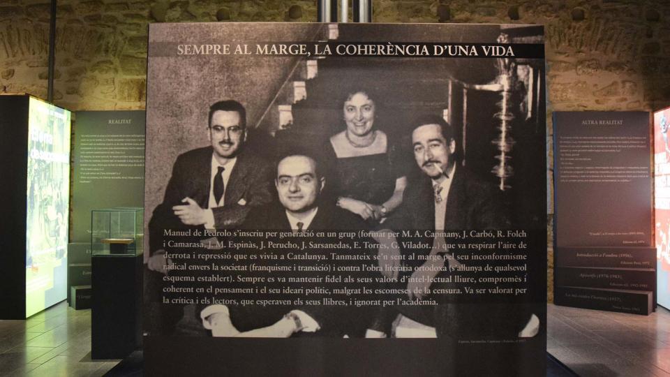 Museu de Espai Pedrolo - Autor Ramon Sunyer (2018)