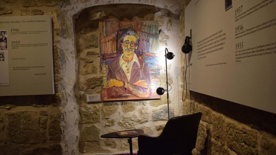 Museo de Espai Pedrolo - Autor Ramon Sunyer (2018)