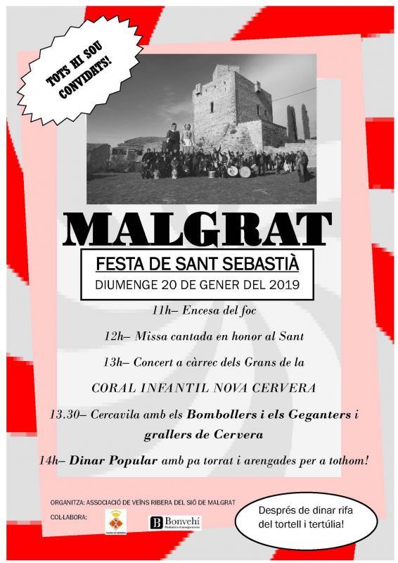 Festa de Sant Sebastià a Malgrat