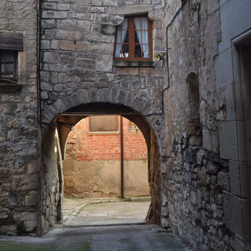 Portal de Migdia - Autor Ramon Sunyer (2019)